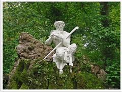 Schwetzinger Barockgarten - Pan und Syrinx