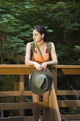 Young woman hiking in summer (KnightWolf Photography) Tags: park travel summer people woman tree green nature girl beautiful grass sport female trekking way landscape person waterfall healthy movement colorful view action outdoor hiking path walk young meadow free lifestyle sunny hike adventure trail backpacking harmony backpack hiker recreation activity fitness backpacker exercises vacations active