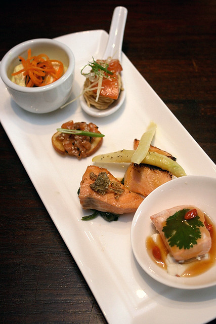Six different ways of enjoying salmon
