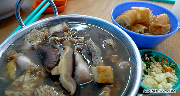 I ordered Bah Kut Teh for lunch
