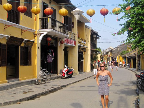 Hoi An - Yellow Streetscape