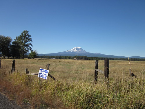 Mt Adams from just outside Glenwood