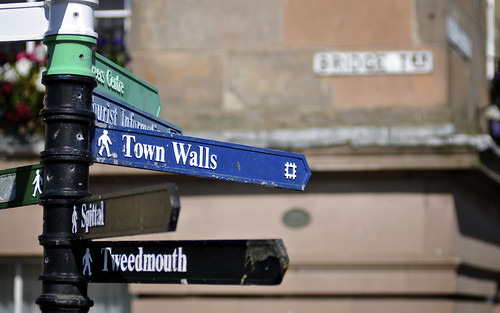 To The Town Walls In Berwick upon Tweed