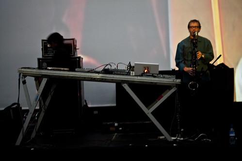 Livio Tragtenberg (probando sonido)