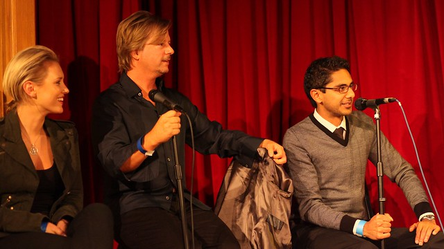 Nicky Whelan, David Spade, Adhir Kalyan, Second City Hollywood Grand Re-opening and Benefit for the Farley House