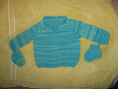 Wash and Block (Nethilia) Tags: sonali socks sweater knitting americangirl