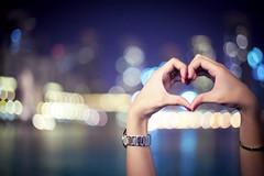 ILY (FUNKYAH) Tags: love hands dubai heart bokeh 2010 ily
