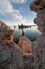 Through the Tufa, Mono Lake (Nick Chill Photography) Tags: california rock landscape photography nikon image stock perspective scenic yosemitenationalpark monolake tufa easternsierras d300s nickchill