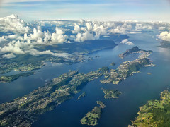 Flying high! (larigan.) Tags: clouds islands aerial fjords lesund aalesund norwegiansea larigan phamilton gettyimagesnorwayq1 licensedwithgettyimages