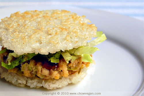 Crispy Rice Burger