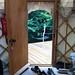 Cotswolds Yurt - The Yurt Doorway Outside