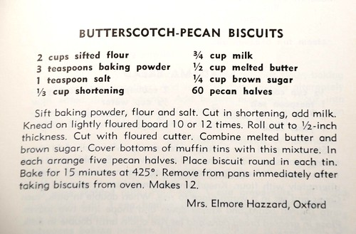 butterscotch-pecan biscuits