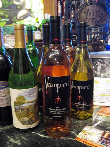 """""""Vampire"""" Wines"""