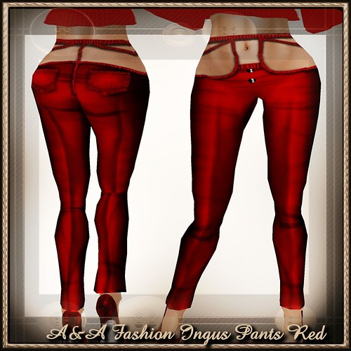 A&A Fashion Ingus Pants Red