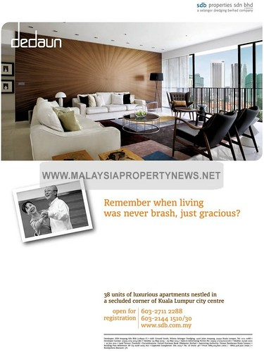 KLCC luxury apartment Dedaun