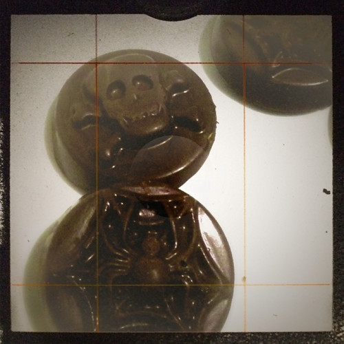 Creepy cookie mold