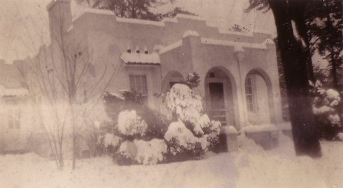 Aunt Anna's house in wintertime