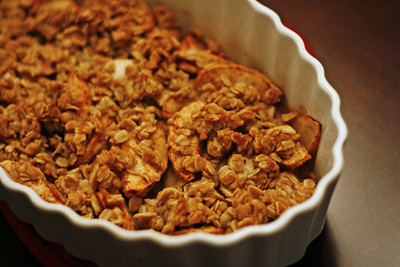 Brown Butter Apple Crumble Recipe