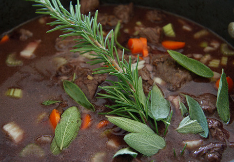 Beef Bourguignon at the Ranch