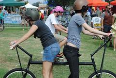 butt to butt bike