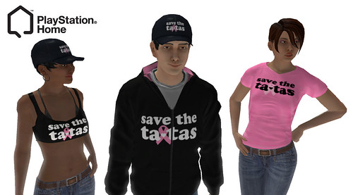Save the Ta-Tas in PlayStation Home