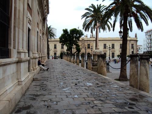 Seville, walkway