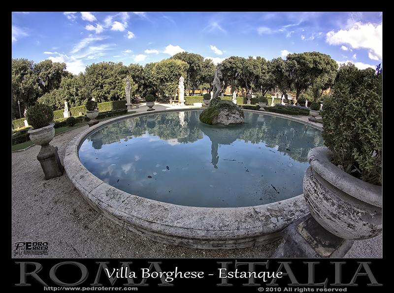 Roma - Villa Borghese Estanque