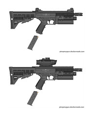 sieblin smg (timberfox15) Tags: gun weapon scifi smg pmg rolleplaying