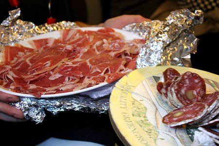 apéro train jambon