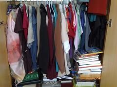 A maior parte das roupas de uso diário.