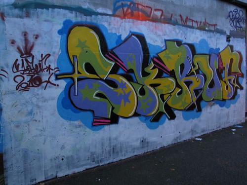 Ruten graffiti wall