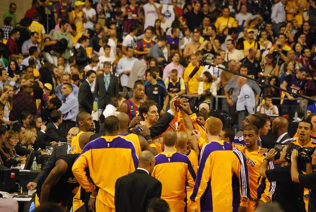 Tiempo muerto de los Lakers