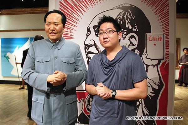 Me with Chairman Mao