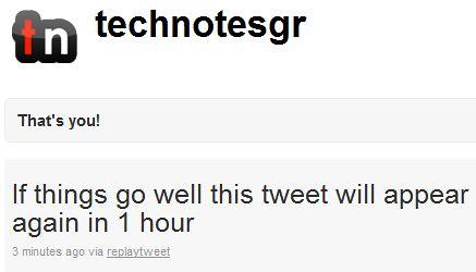 Testing ReplayTweet