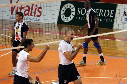 Voleibol: Vitória 3-2 SC Espinho
