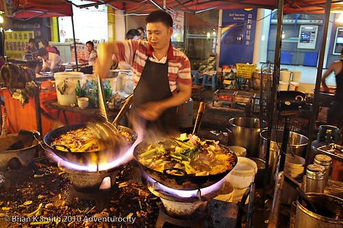 Rocket-fuelled woks, Anshun
