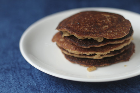 Brown Rice Flour Pancakes