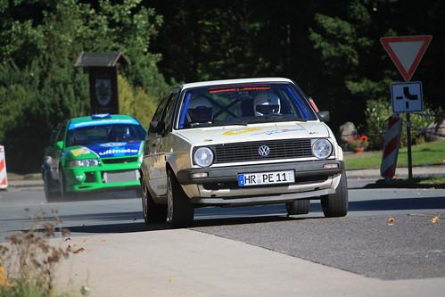 VW Golf 16V und Mitsubishi Lancer EVO 6