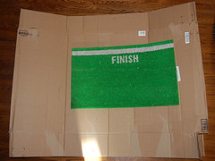 finish line mat box