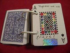 altered card deck matt 011 (maryhassound) Tags: craft anniversarypresent alteredcarddeck