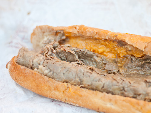 Cheesesteak! (Tony Luke's)
