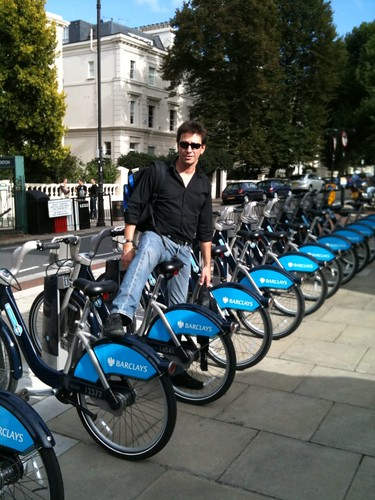 brad on boris bikes