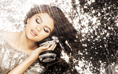 Orginal ( a year without rain ) Tags: light rain marie glitter promo shoot dress album year diamond headphones hq without selena gomez sequined a sparles