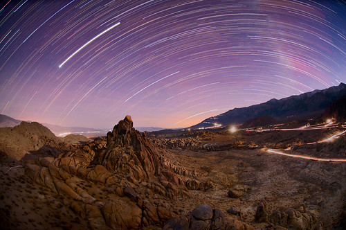 Alabama Hills Star Trails
