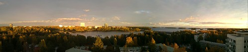 Otsonlahti Autumn Panorama