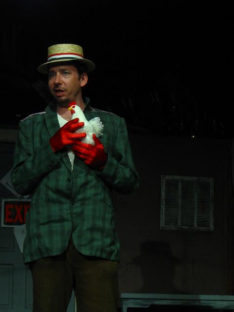 Gaston (played this week by Sean Sweeney)