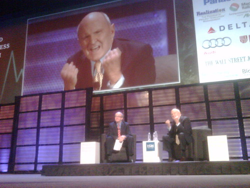 Jack Welch at 7th World Business Forum