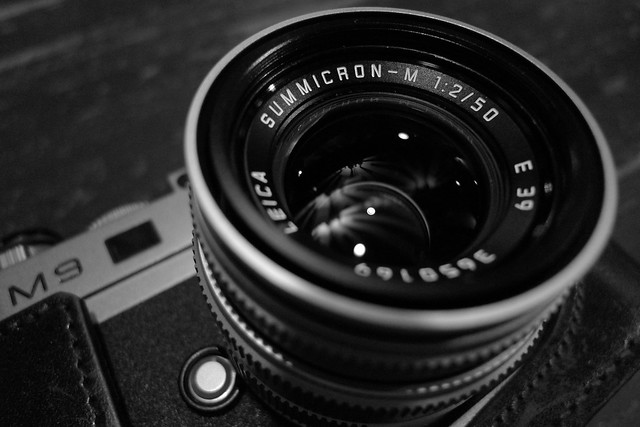 Leica M9 with 50mm Summicron Chrome