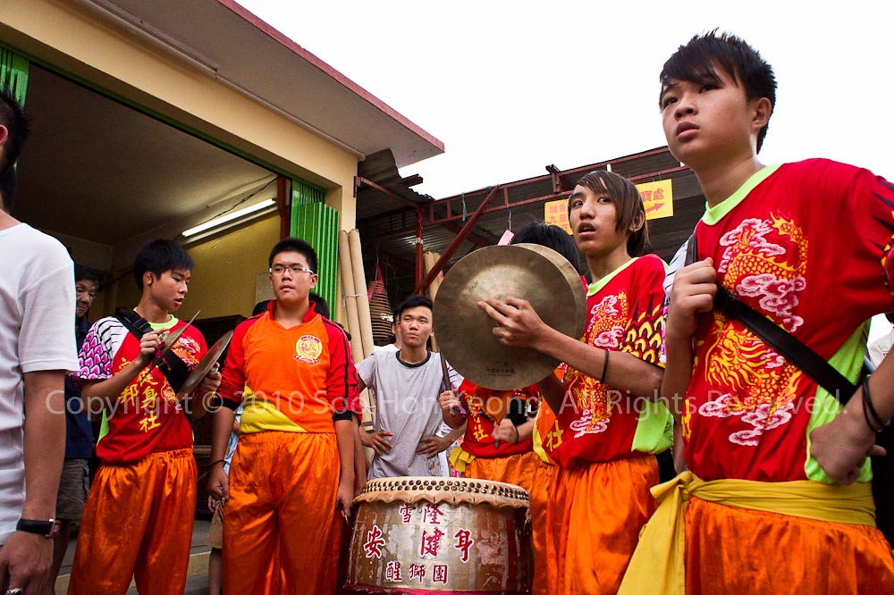 Musician @ Nine Emperor Gods Festival, Ampang, Malaysia