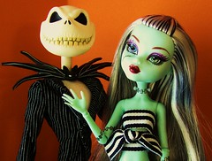(Laila X) Tags: halloween jack toys doll frankie figure jackskellington stein nightmarebeforechristmas skellington frankiestein monsterhigh monsterhighdolls